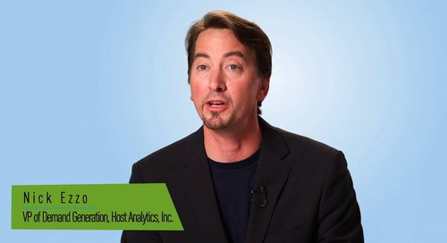 Customer Testimonial - Host Analytics