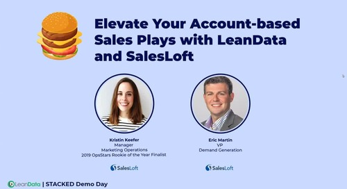 Elevate Your Account-based Sales Plays with LeanData and SalesLoft