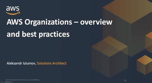 02.03.2020 | Вебинар: AWS Organizations - Как сделать правильно