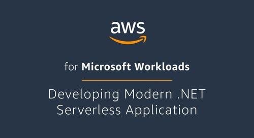 Developing Modern .NET Serverless Application