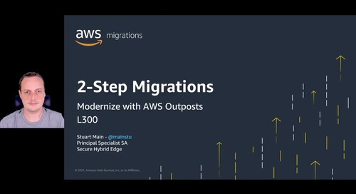 2-step migrations - Modernize with AWS Outposts