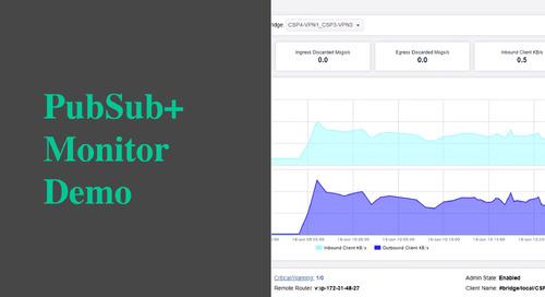 PubSub+ Monitor Demo