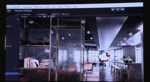Autodesk University - Designing walkthroughs of Unity's London office using Cinemachine & Timeline