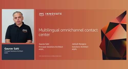 Multilingual omnichannel contact center