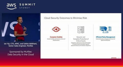 Elements of a Strong Secure Cloud Migration Strategy (Sponsored by McAfee)
