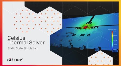 Static Analysis - Celsius Thermal Solver