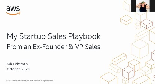 A startup sales playbook, by a startup founder and VP of sales