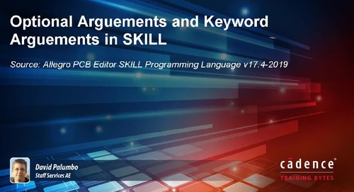 Optional Arguments and Keyword Arguments in SKILL