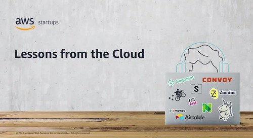 Startups on AWS: Lessons from the Cloud