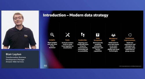 Transform your data approach - Develop your modern data strategy