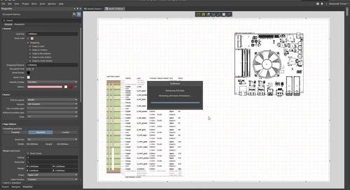 无缝PCB文档处理