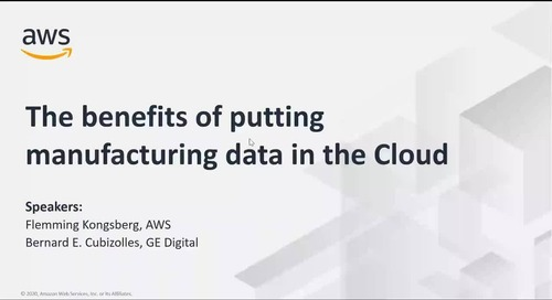 GE Digital_ The Benefits of Putting Manufacturing Data in the Cloud