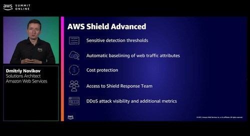 DDoS protection and response automation