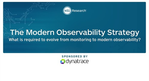 Nancy Gohring: What is required to evolve from monitoring to modern observability?