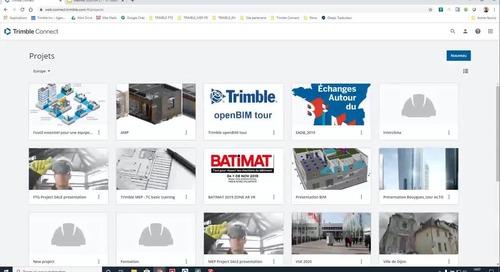 Webinar: Trimble Connect - l'outil essentiel pour une équipe de maitrise d'oeuvre