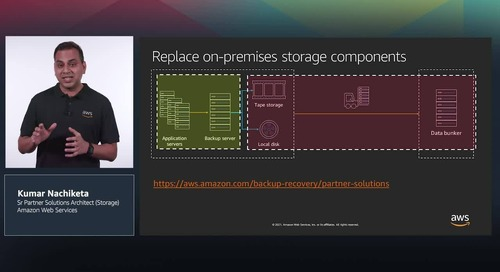 Increase efficiency of your Backup & Recovery workflow with AWS _Final video