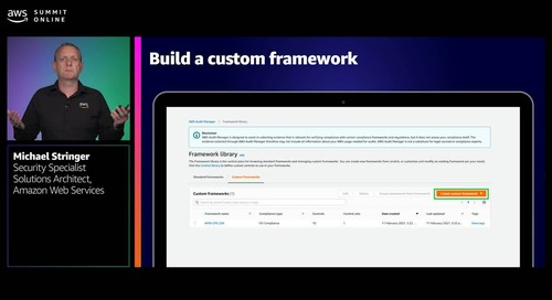 Building an effective governance and compliance strategy using AWS Audit Manager