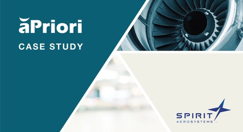 Hear How Spirit Aerosystems Improved Their Design to Cost Strategy
