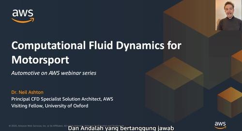 Computational fluid dynamics for motorsport ID