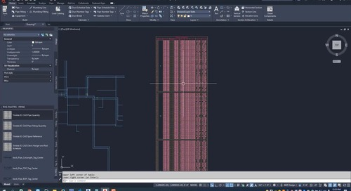 EC-CAD Pipe Training Exercise Part 21: Revit Interoperability - Importing Revit Drawings