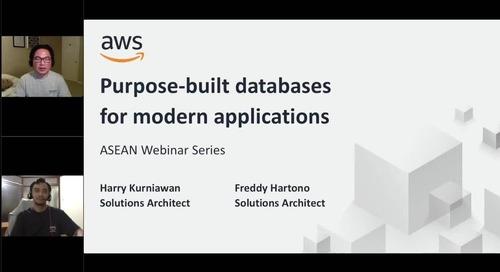 AWS Database untuk Aplikasi Modern