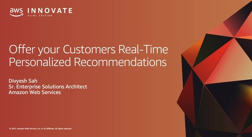 Offer Your Customers Real-Time Personalized Recommendations