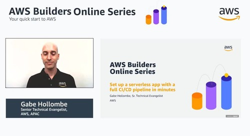 Set up a serverless app with a full CI/CD pipeline in minutes
