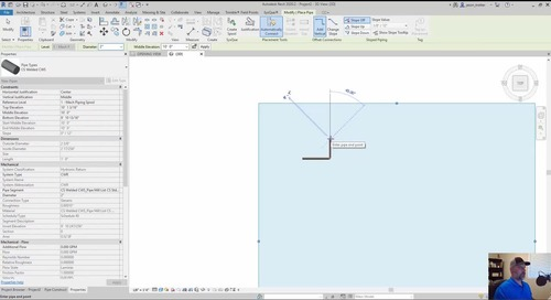 SysQue Piping 101 Training Series Part 3: Revit and SysQue System Types