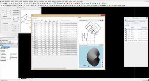 Tutorial Plancal nova 11-0 - Rohrleitungbau 3D  Teil 1