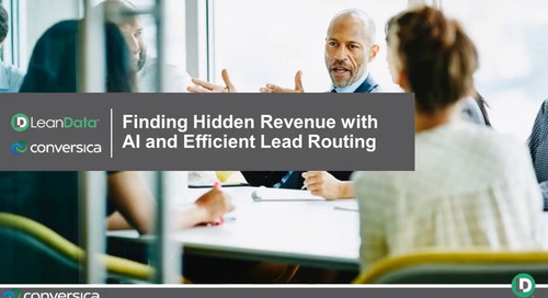 Finding Hidden Revenue with AI and Efficient Lead Routing