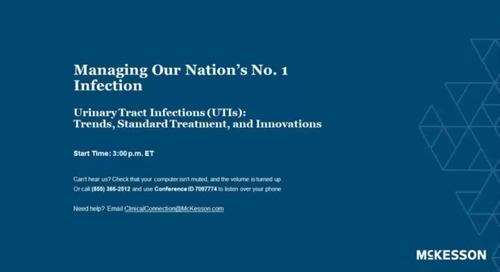 Urinary tract infection trends, standard treatment & innovations