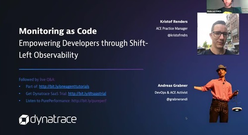 Monitoring as Code - Empowering Developers through Shift-Left Observability