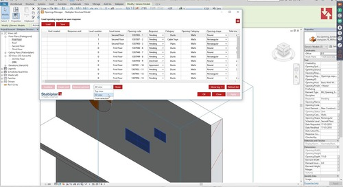 How to Combine MEP Openings in a Building: Stabiplan Openings for MEP