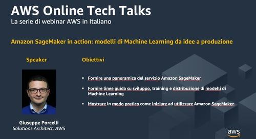 Amazon SageMaker in action - modelli di Machine Learning da idee a produzione