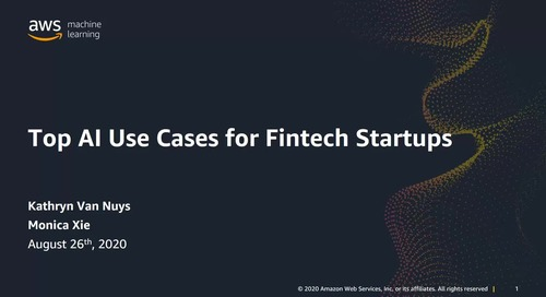 Use cases: Machine Learning in Fintech Startups