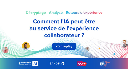 SNCF & Sanofi : L'IA au service de l'expérience collaborateur