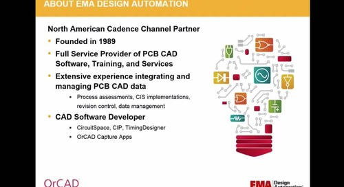 On-Demand Webinar: OrCAD Arena PLM Advanced Bi-directional Integration