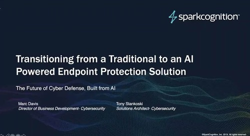 Transitioning from a Traditional to an AI Powered Endpoint Protection Solution