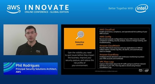 Cloud security fundamentals - AWS Innovate