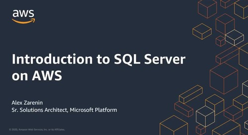 Introduction to SQL Server on AWS