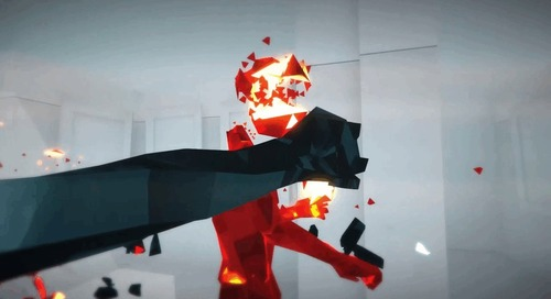 SUPERHOT for Playstation 4 is out for pre-orders now!