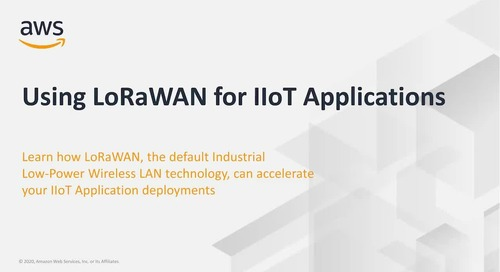 Using LoRaWAN for IIoT Applications_Actility