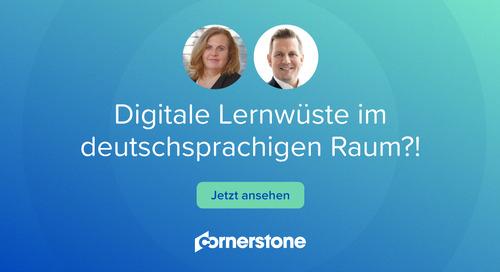 Digitale Lernwüste im deutschsprachigen Raum?!