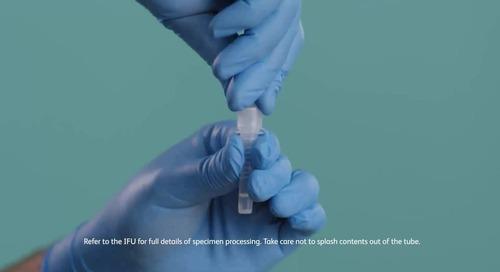 BD Veritor™ Plus System: Rapid flu A+B testing