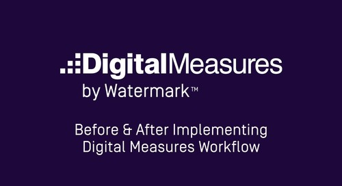 Before and After Implementing Digital Measures Workflow