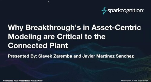 Why Breakthrough's in Asset-Centric Modeling are Critical to the Connected Plant