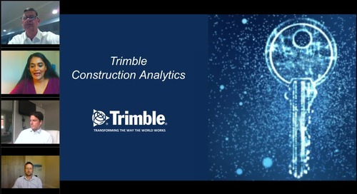 [On-Demand Webinar] Construction Analytics for your Digital Transformation