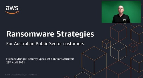 Ransomware strategies for public sector customers