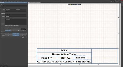 Как настроить шаблон листа Draftsman