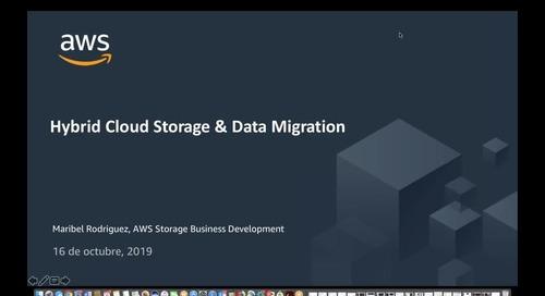 Usando Hybrid y Edge para migrar tus datos a AWS